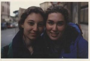 me and Lauren in Italy